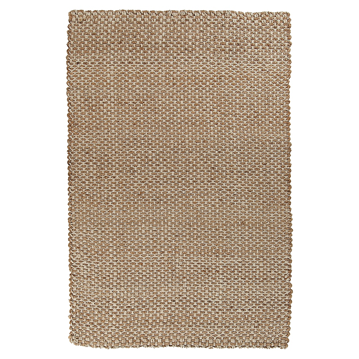 Basketweave Jute Rug - Natural